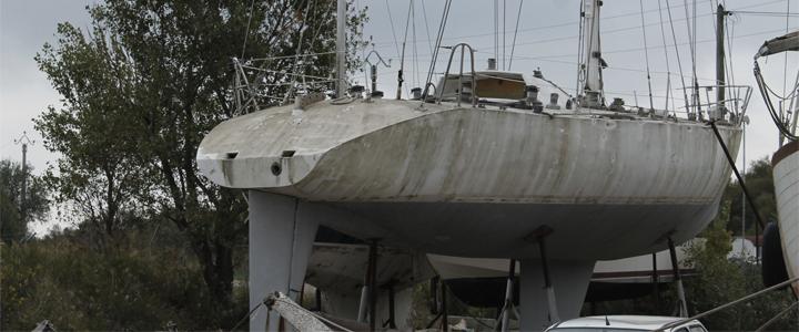 Le voilier Mor Bihan octobre 2015 à port Saint Louis du Rhône