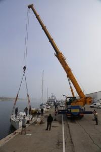 Mor Bihan dématage Les Glandos Eugène Riguidel Port Saint Louis du Rhône Seatex voilier Whitbread Philippe Poupon Halvard Mabire AltéAd Revel