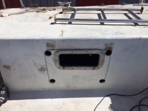 hublot cabine arrière