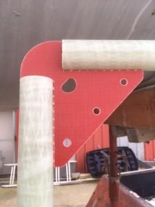 Voilier Mor Bihan rénovation couchettes tubulaires
